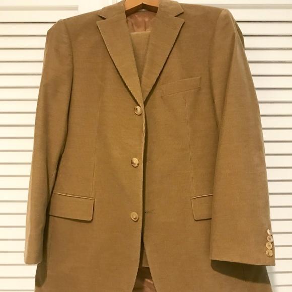 Hugo Boss Other - BOSS Beige Cord Suit - size M: 31 waist, 30 length